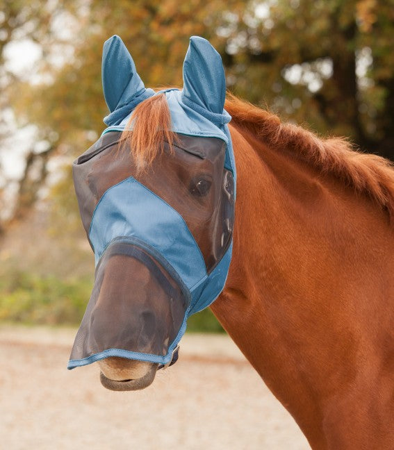 Waldhausen Fly Mask with Nose Net