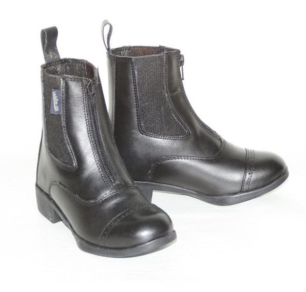 Saddle-Up Riding Boots with Front zip