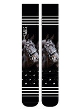 "Load image into Gallery viewer, Busse Riding Socks ""Print"""
