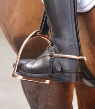 "Load image into Gallery viewer, Waldhausen Stirrup Iron ""Rose Gold"""
