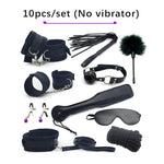Erotic Toys Vibrator Bullet sex Bondage Fetish Kit Restraints Intimate Toys