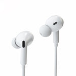 Wired Earphones Lightning Headphone With Microphone Stereo