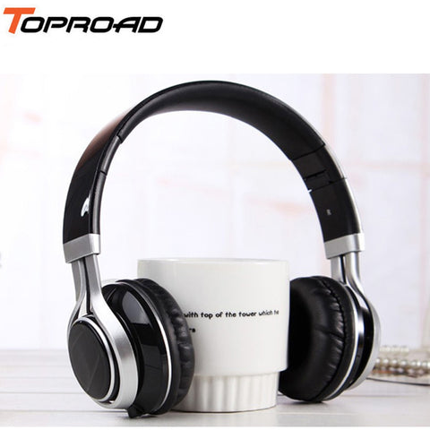 Wired Mobile Phone Headphone Stereo Foldable Headset Earphone