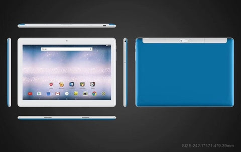 2.5D Glass 10 inch Tablet pc
