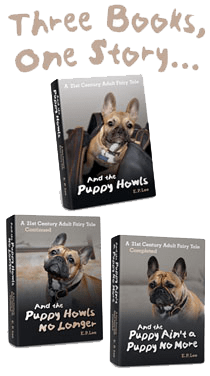 Three Books, One Story, E.P. Lee, The Puppy Series