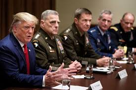 Donald Trump, Joint Chiefs of Staff, Military, Martial law