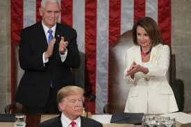 State of the Union sarcastic applause, Trump