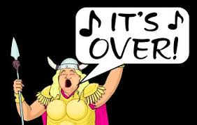 The fat Lady SIngs, 2020 election, Donald Trump, It's Over