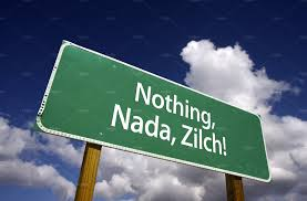 Nothing, little, Nada