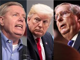 They Suck, Donald Trump, Lindsey Graham, Mitch McConnell