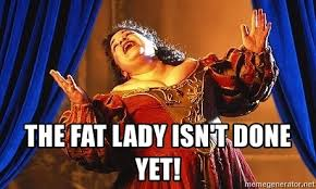 The Fat Lady, Donald Trump