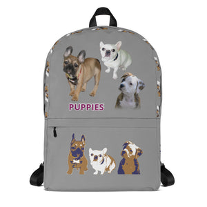 E. P. Lee, and the puppy howls collections all, PUPPIES BackPack, FREUD & FRIENDS collection