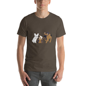 PUPPIES II Short-Sleeve Unisex T-Shirt