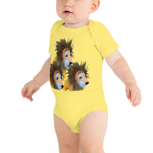 E. P. Lee, and the puppy howls collections all, Mr. Lion  Onesie, Jungle Buddy collection