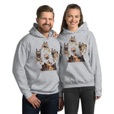 E. P. Lee, and the puppy howls collections all, FREUD PUPPY Unisex Hoodie, Freud & Friends COLLECTION
