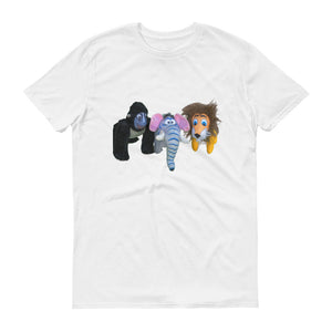 E. P. Lee, and the puppy howls collections all, JUNGLE BUDDIES Kids Unisex T-Shirt, Jungle Buddies collection