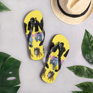 JUNGLE BUDDIES Flip-Flops
