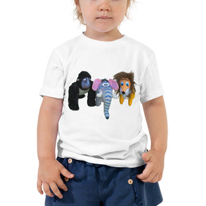 E. P. Lee, and the puppy howls collections all, Welcome to the Jungle II Toddler T-Shirt, Jungle Buddies collection