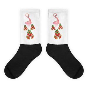 E. P. Lee, and the puppy howls collections all, BIG DADDY FLAMINGO HOLIDAY BELLS Socks, Big Daddy Collection, Family-Flamingo collection