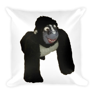 MR. GORILLA Square Pillow