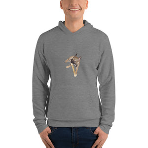 CHEWING-THE-BONE Hooded Sweatshirt