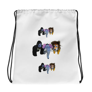 WELCOME TO THE JUNGLE Drawstring Bag