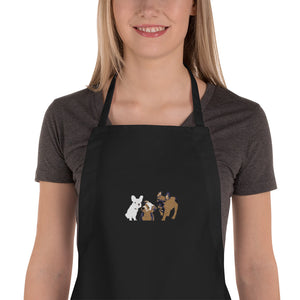 PUPPIES Embroidered Apron