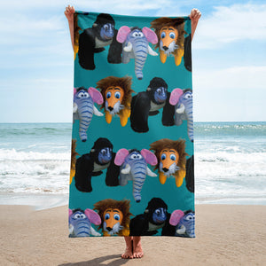 E. P. Lee, and the puppy howls collections all, WELCOME TO THE JUNGLE Beach Towel, Jungle Buddies collection
