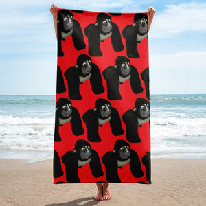 MR.GORILLA Beach Towel