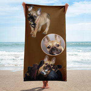 E. P. Lee, and the puppy howls collections all, FREUD PUPPY Beach Towel, FREUD & FRIENDS collection