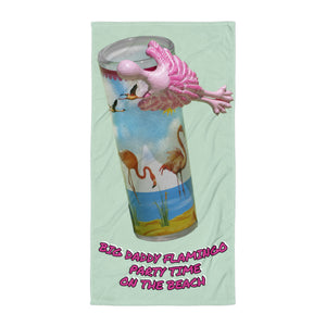 E. P. Lee, and the puppy howls collections all, BIG DADDTY PARTY ON THE BEACH TOWEL, BIG DADDY COLLECTION, FAMILY-FLAMINGO collection