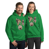 E. P. Lee, and the puppy howls collections all, FREUD PUPPY Unisex Hoodie, Freud and Friends Collection