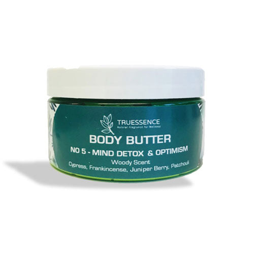 <span>Body Butter No. 5</span><br/> Mind Detox and Optimism