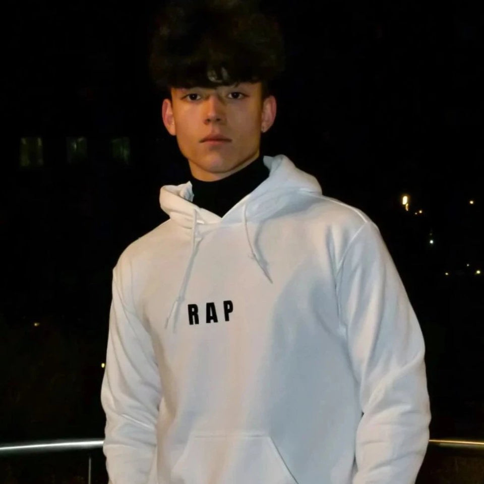 Sudadera RAP BLANCO - Underground Clothing