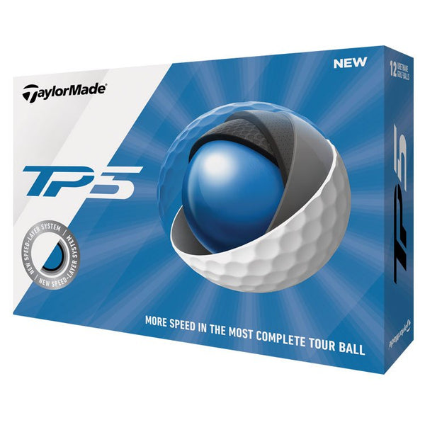 2019 TaylorMade TP5 Balls with FatPlate Logo (12)