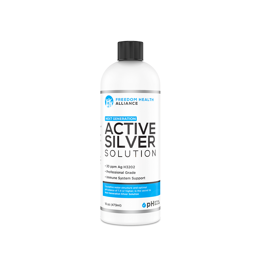 Active Silver Solution freedomhealthalliance