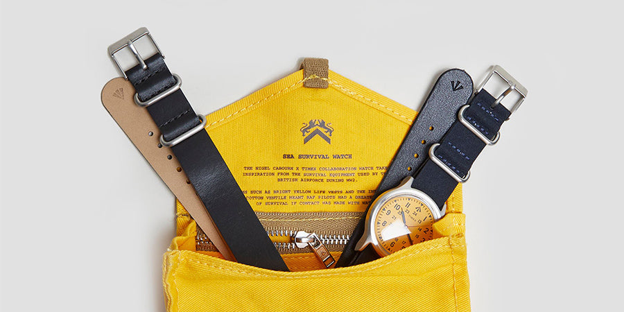 The Timex X Nigel Cabourn Survival Watch