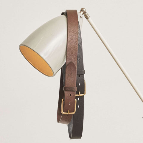 Double Keeper Belt in Black Leather and Double Keeper Belt In Brown Leather
