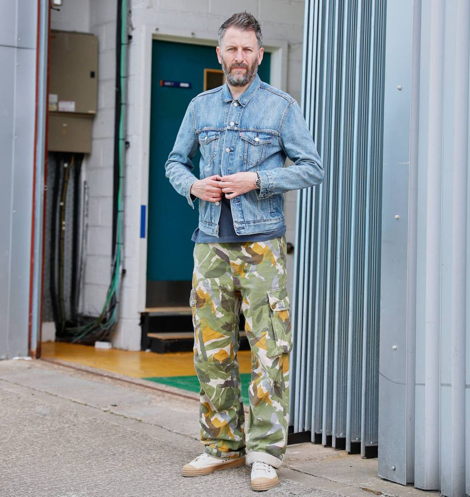 Fenners Soccer AM Nigel Cabourn Tool Pant Camo