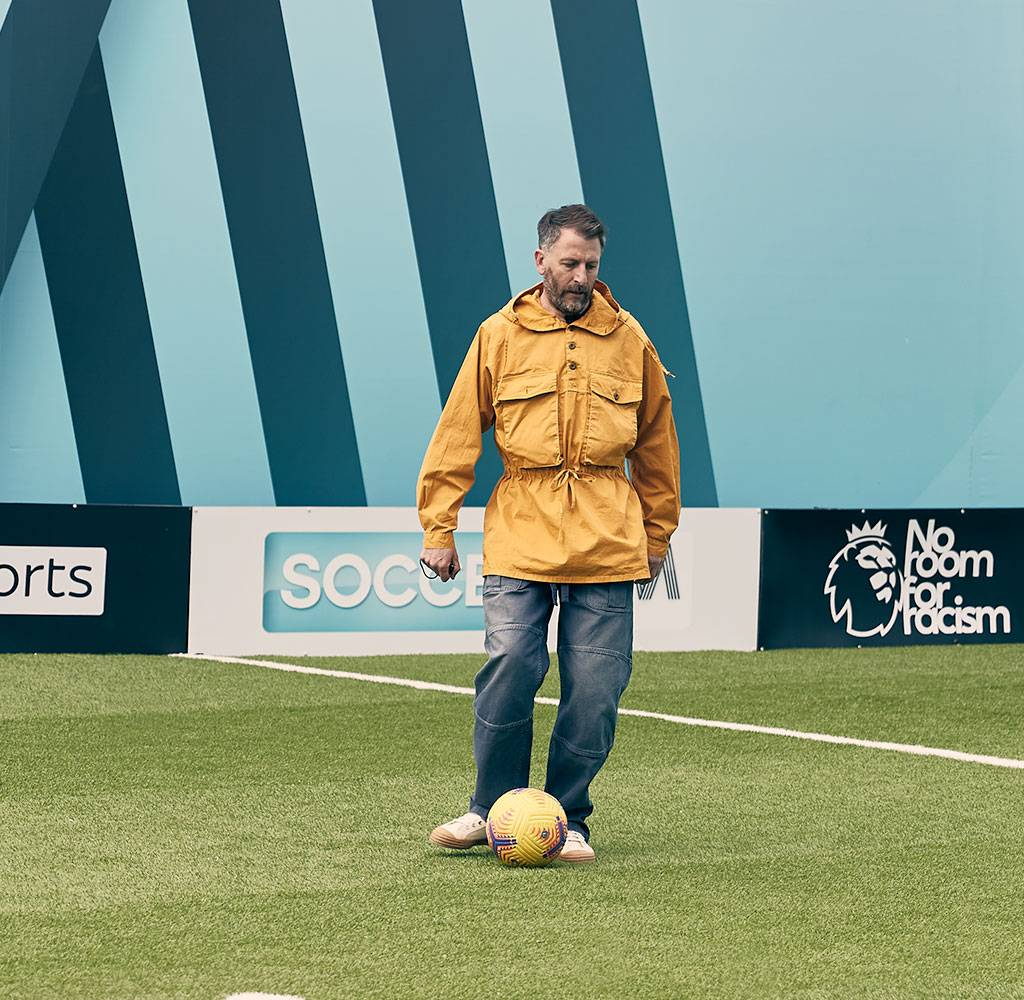 Fenners Soccer AM Track Smock