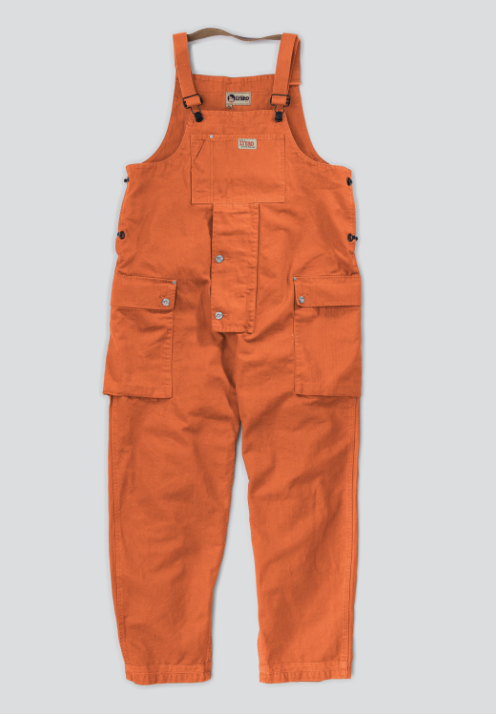 Vintage Orange Naval Dungaree