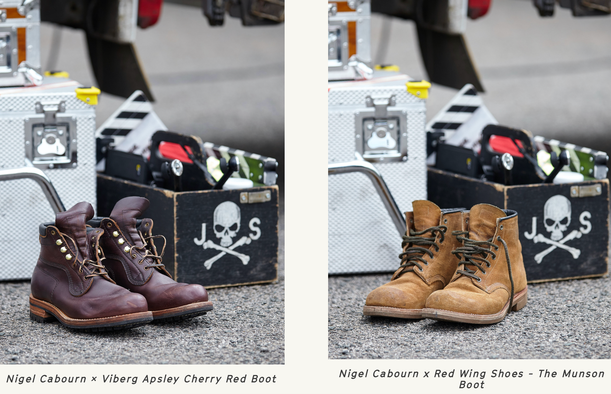 red wing x Nigel Cabourn