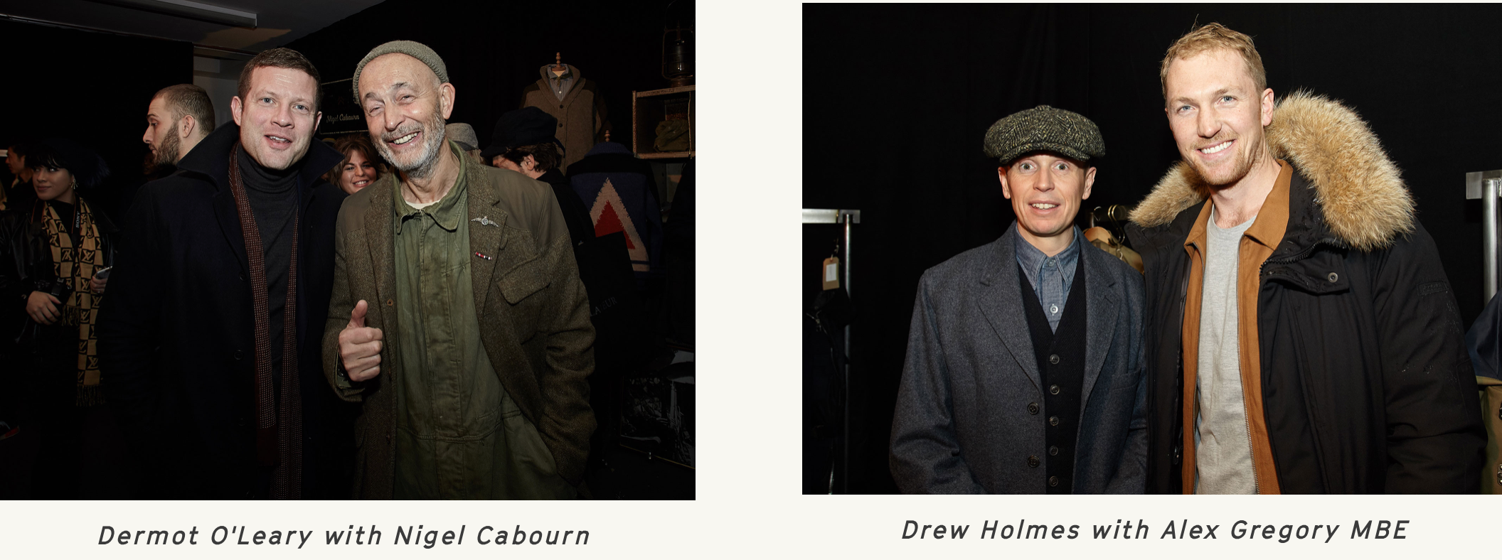 Nigel Cabourn London collectors show