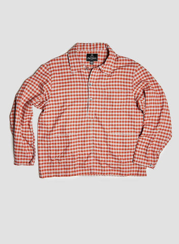 POH DECK SHIRT IN RED CHECK