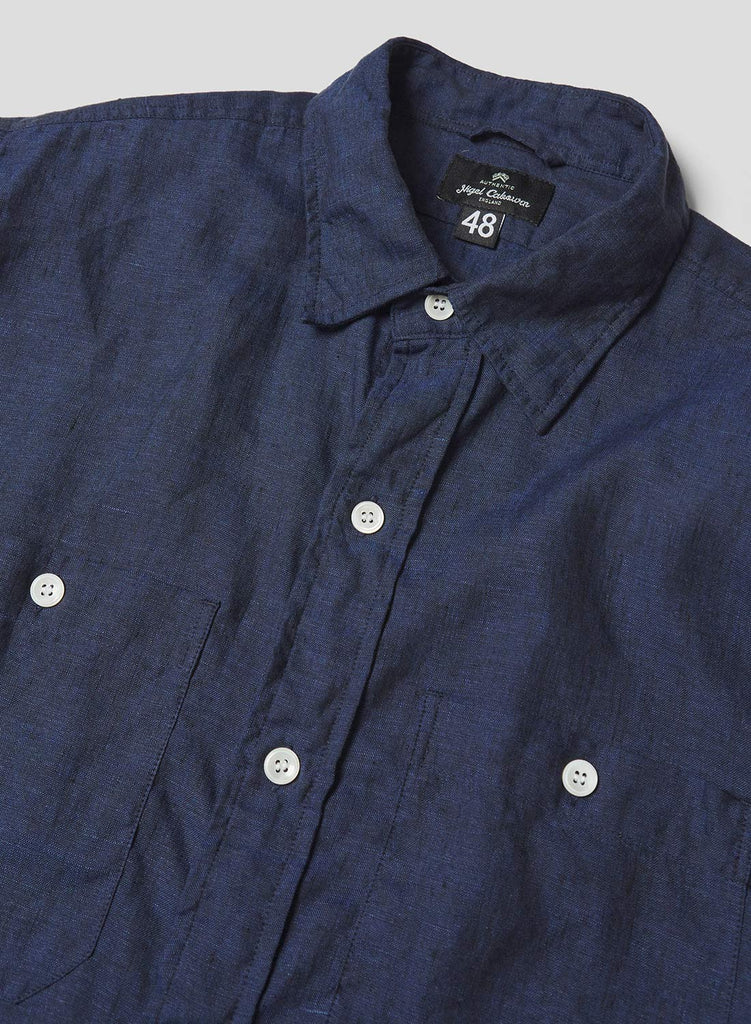 Big Shirt in Black Navy