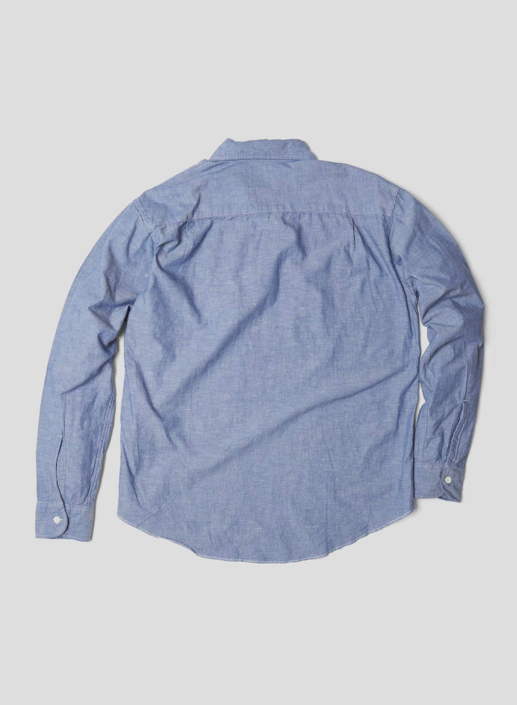 Long Sleeve POH Shirt in Blue
