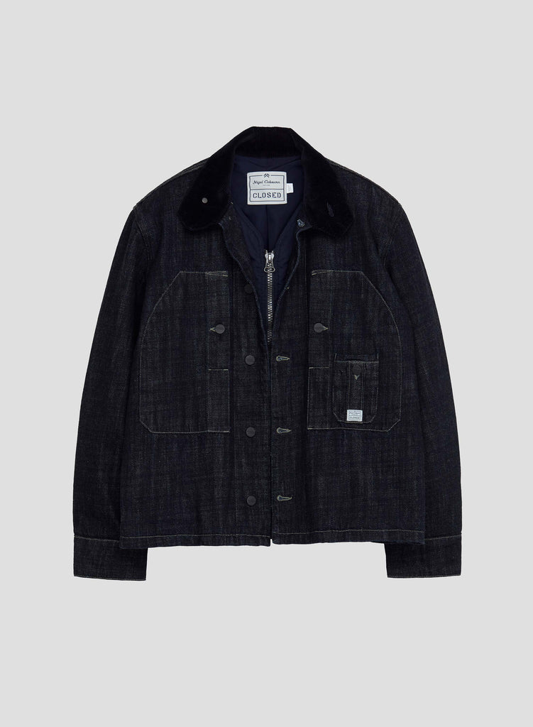 NC X Closed Men's Jacket in Dark Blue
