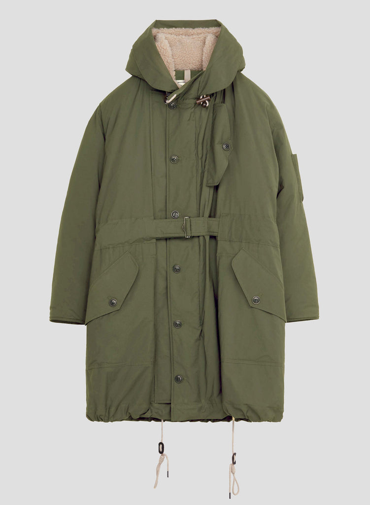 NC X Closed Men's Parka in Four Leaf