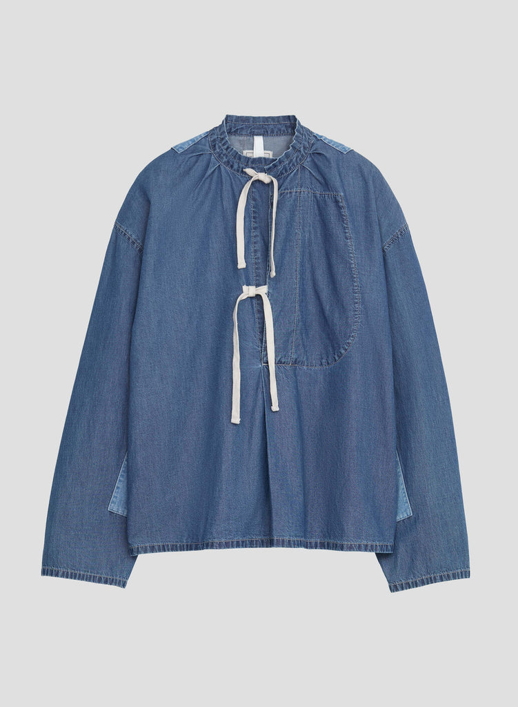 NC X Closed Women's Top in Mid Blue
