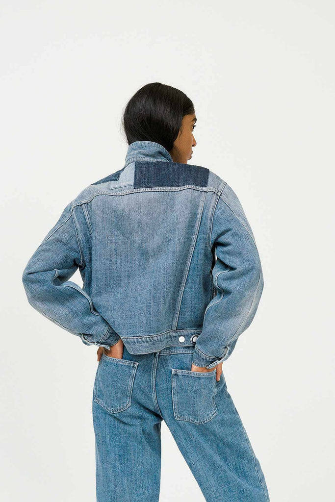 NC x Closed Women's Jean in Mid Blue